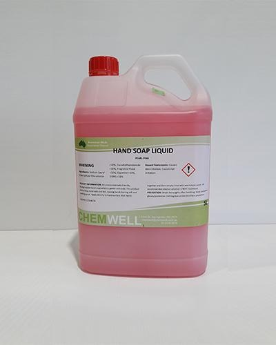 Chemwell Hand Soap Liquid Pearl Pink - United Cleaning Supplies