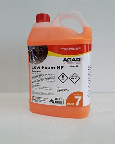 AGAR HF Low Foam 5L - United Cleaning Supplies