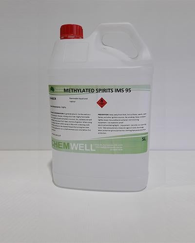 Chemwell Methylated Spirits IMS 95-96 - United Cleaning Supplies
