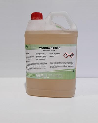 Chemwell Mountain Fresh Air Fresh-Sani 5L - United Cleaning Supplies