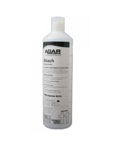 AGAR - NO.11 BOTTLE WITH TRIGGER 750ml- CHLORADET - United Cleaning Supplies