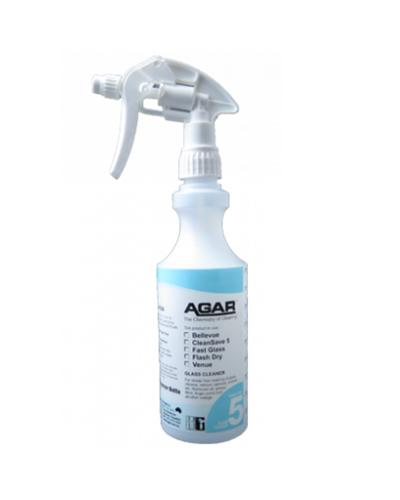 AGAR - NO.5 BOTTLE WITH TRIGGER 500ml- COMPLETE - United Cleaning Supplies