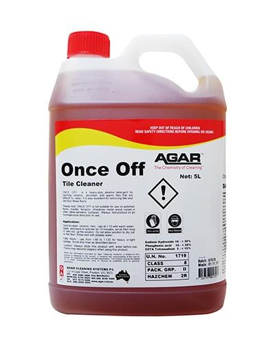 AGAR Once Off 5L - United Cleaning Supplies