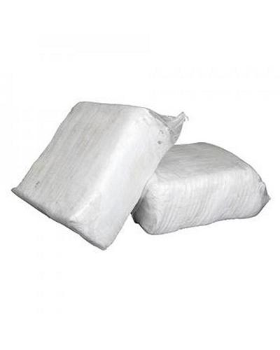 CB - RAGS - WHITE FANELLEN OFFCUTS 10KG - United Cleaning Supplies