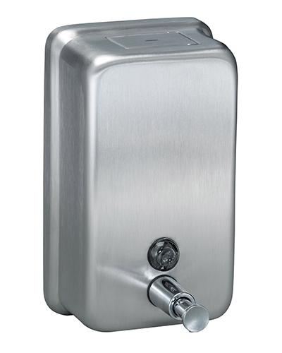 NAB - SOAP DISPENSER STAINLESS STEEL VERTICAL - United Cleaning Supplies