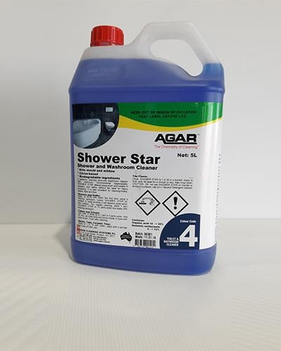 AGAR Shower Star - United Cleaning Supplies