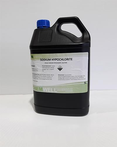 Chemwell Sodium Hypochlorite Solution 125mL/L - United Cleaning Supplies