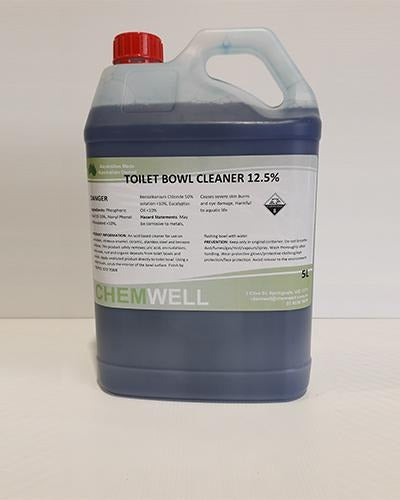 Chemwell Toilet Bowl Cleaner 12.5% - United Cleaning Supplies