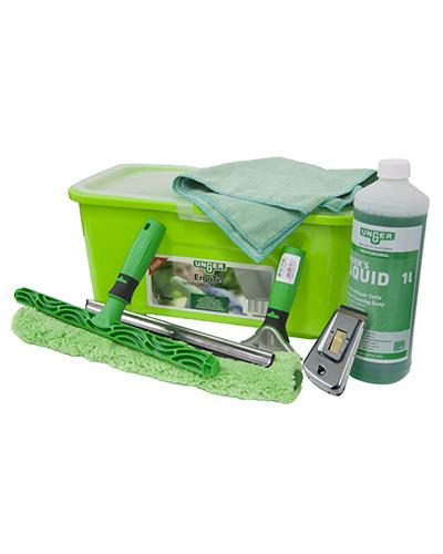 PALLMALL Unger ErgoTec Window Cleaning Kit - United Cleaning Supplies