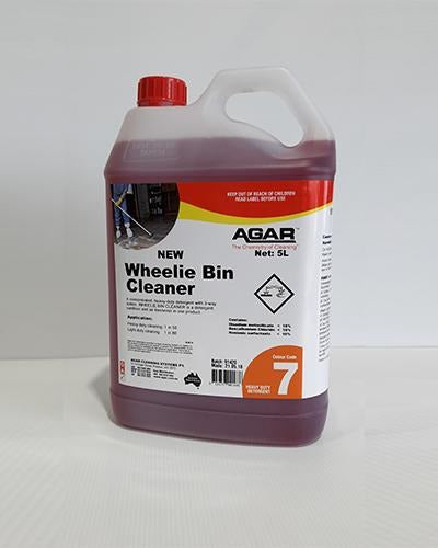 AGAR Wheelie Bin Cleaner - United Cleaning Supplies