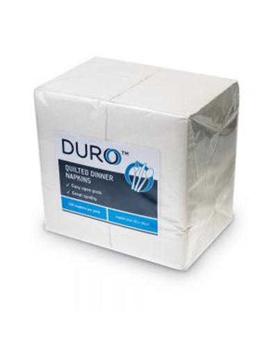 Duro Quilted Dinner Napkin GT Fold - United Cleaning Supplies