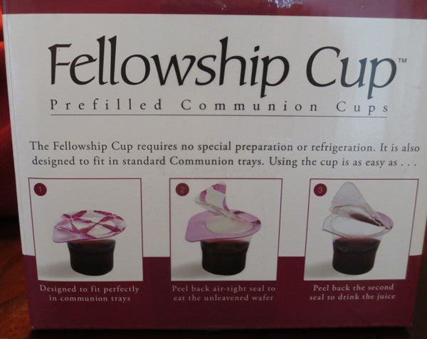 Pre-Filled Fellowship Cup® Cups & Bread