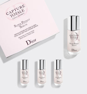 Capture Totale Total Age-Defying Intense Serum, 50 ml Bottle & Three Travel-Size Serums