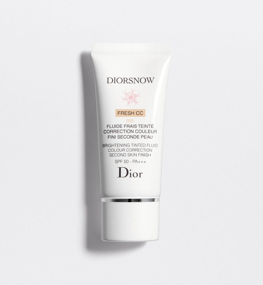 DIORSNOW BRIGHTENING TINTED FLUID COLOUR CORRECTION SECOND SKIN FINISH SPF50 – PA+++