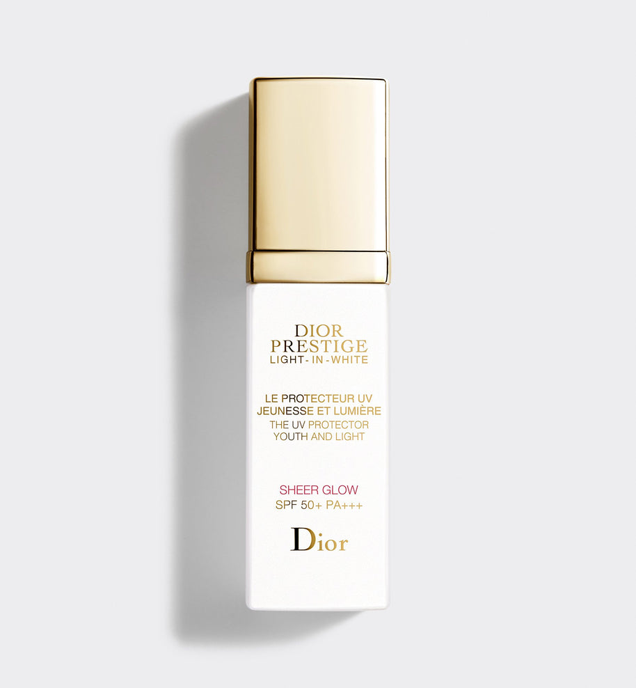 DIOR PRESTIGE LIGHT-IN-WHITE 'THE UV PROTECTOR YOUTH AND LIGHT