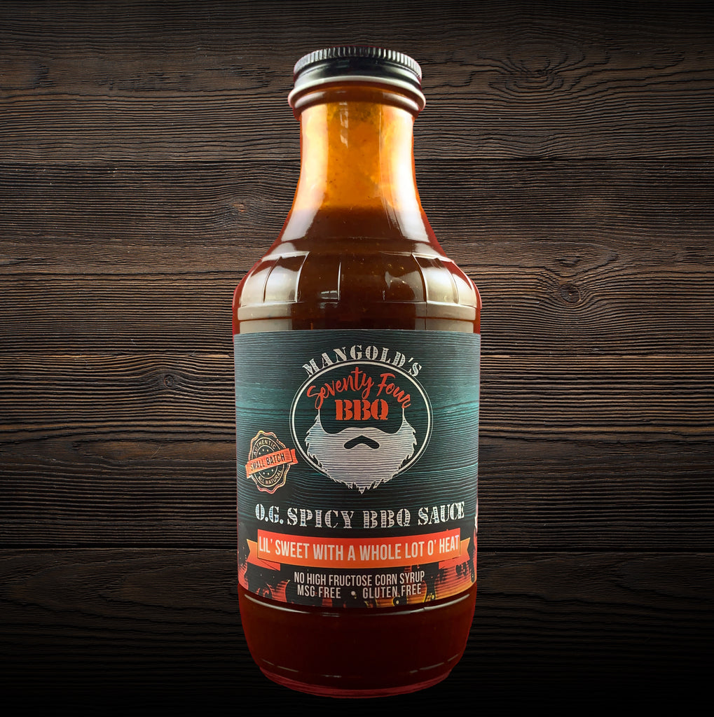 O.G. Spicy BBQ Sauce