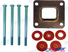 Load image into Gallery viewer, Mercruiser V6 riser gasket and bolt set (dry)