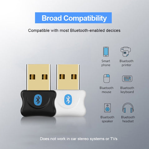 Bluetooth-adapter er stort set kompatibel