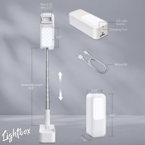 Lightbox Product dimensions