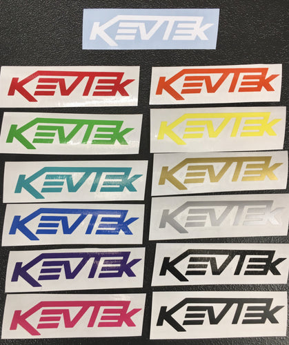 Small Kevtek Stickers