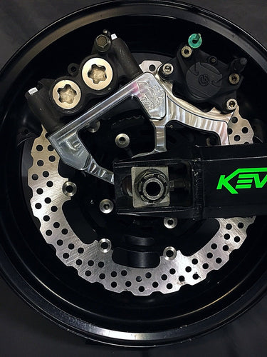Kawasaki Single Radial for stock 03-04 wheel Handbrake Setup