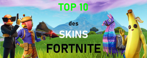 TOP 10 des skin fortnite