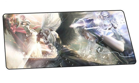 Tapis De Souris Final Fantasy<br> Cloud VS Sephiroth