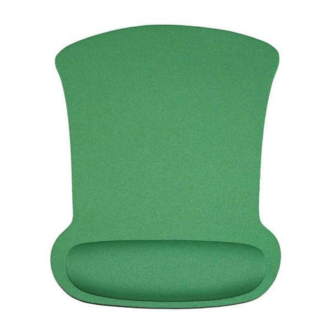 Tapis de Souris Ergonomique Canal Carpien Vert | CrazyWorth