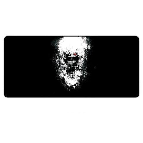 Tapis de Souris Gamer Manga Kaneki Ken Fond Noir | CrazyWorth