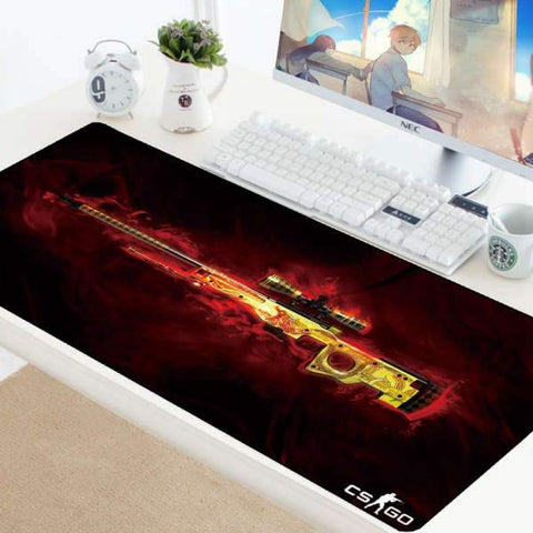 Tapis de Souris Gamer XXL Arme SSG 08 | CrazyWorth