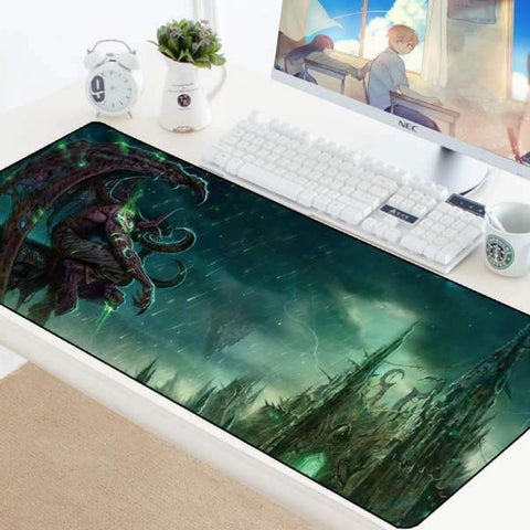 Tapis de Souris Gamer XXL Illidan | CrazyWorth