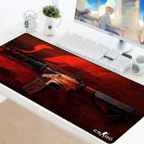 Tapis de Souris Gamer XXL M4A4 Howl | CrazyWorth