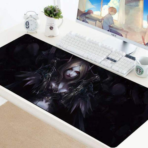 Tapis de Souris Gamer XXL Mort Vivant | CrazyWorth
