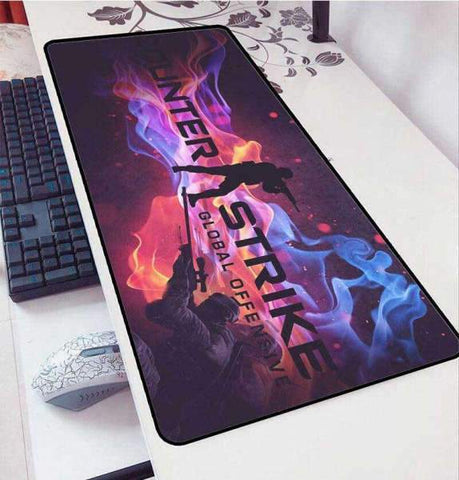 Tapis de Souris Gamer XXL Pensé d'un Sniper | CrazyWorth