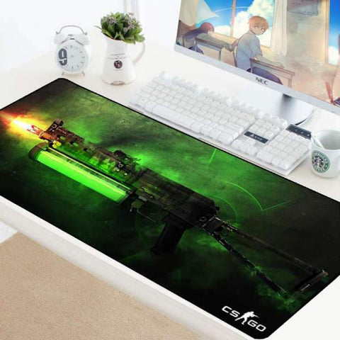 Tapis de Souris Gamer XXL PP-Bizon Barre de Combustible | CrazyWorth