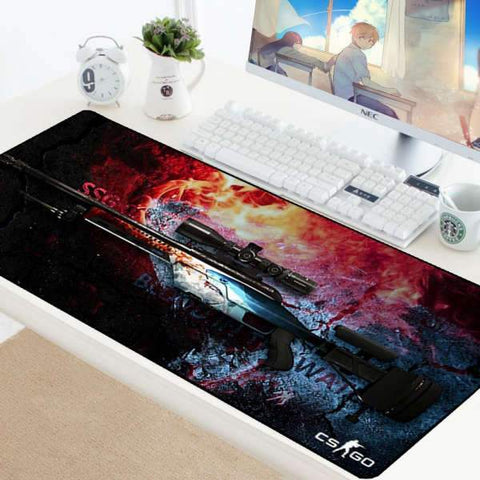 Tapis de Souris Gamer XXL SSG 08 Eau Sanglante | CrazyWorth