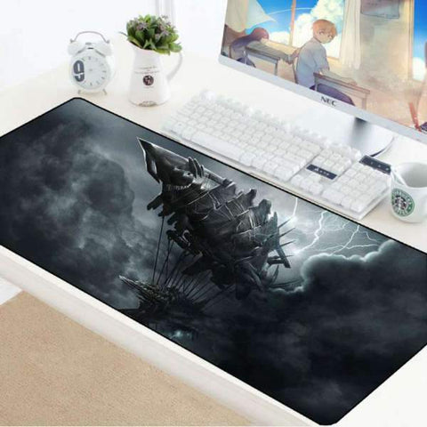 Tapis de Souris Gamer XXL Zéppelin | CrazyWorth