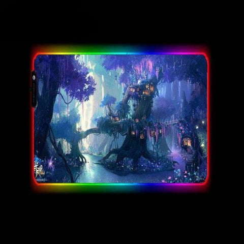 Tapis de Souris RGB XL Arbre Fantaisie | CrazyWorth