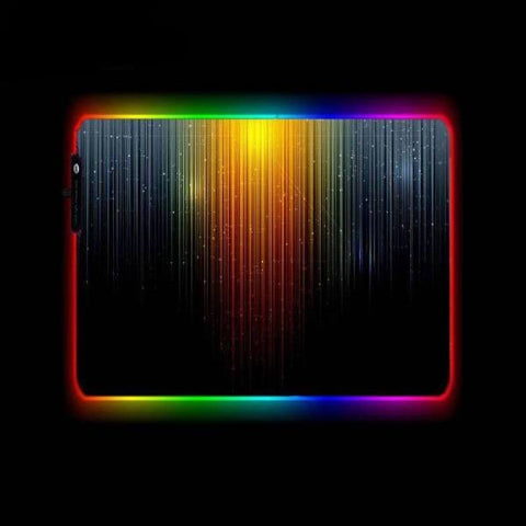 Tapis de Souris RGB XL Ligne Abstraite | CrazyWorth