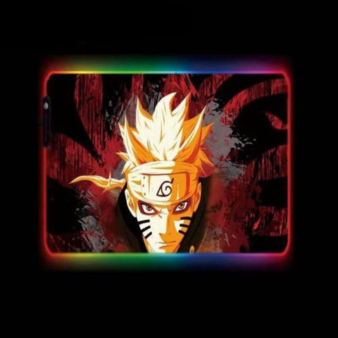 Tapis de Souris RGB XL Naruto Mode Rikudo | CrazyWorth