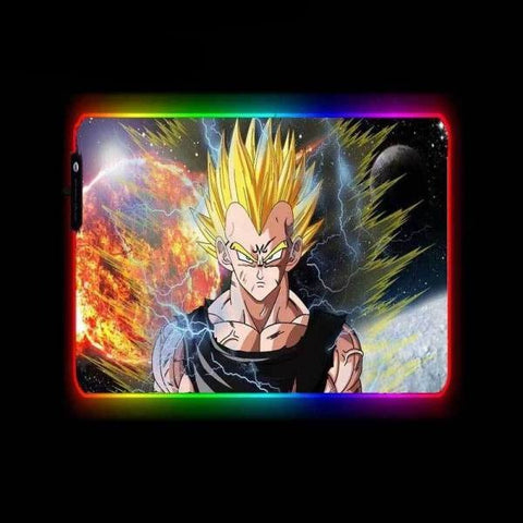 Tapis de Souris RGB XL Vegeta Super Saiyan 2 | CrazyWorth