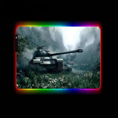 Tapis de Souris RGB XL World of Tanks | CrazyWorth