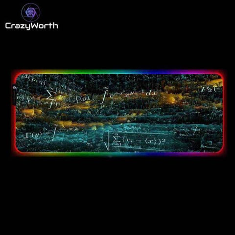 Tapis de Souris RGB XXL Calculator | CrazyWorth