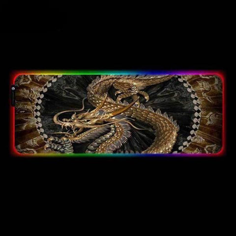 Tapis de Souris RGB XXL Dragon Ancestral | CrazyWorth