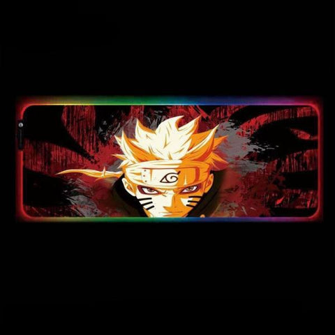 Tapis de Souris RGB XXL Naruto Mode Rikudo | CrazyWorth