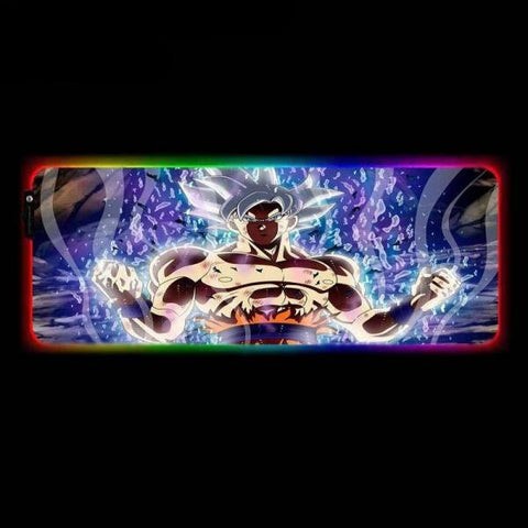 Tapis de Souris RGB XXL Sangoku Ultra Instinct | CrazyWorth