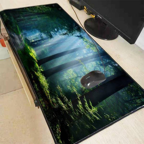 Tapis de Souris XXL Forêt Nature | CrazyWorth