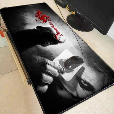 Tapis de Souris XXL Joker Why So Serious | CrazyWorth