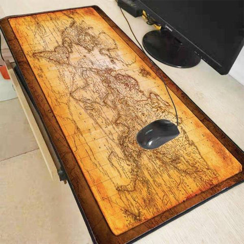 Tapis de Souris XXL Mappemonde | CrazyWorth