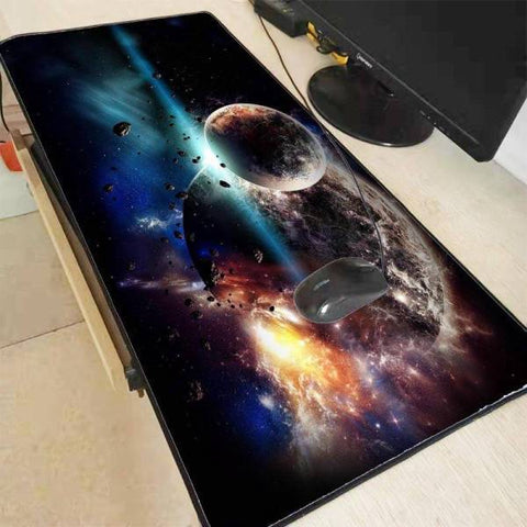 Tapis de Souris XXL Motif d'Art Lunaire | CrazyWorth